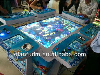 Latest ocean star ii arcade fish shooting game machine for Arcade fish shooting games