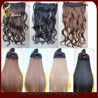 2015 Hot Sell Brazilian Body Wave Clip in Human Hair Extension