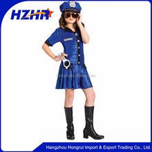 Child Sassy Sexy Police Uniforms Police Officer Costume