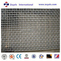 pre-crimped barbecue grill netting/crimped wire mesh for mining/crimped iron wire netting bbq Exporter ISO9001