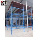 Quick-lock Metal Scaffolding System For Layer Building Construction