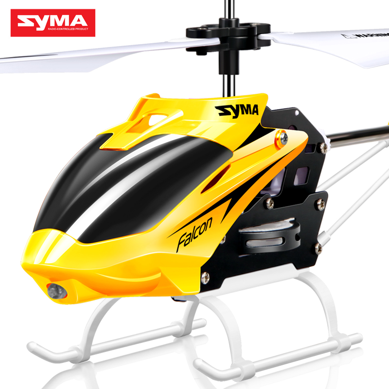 Professional Syma W25 2.5 channel shatter resistant remote control aircraft indoor drone mini RC toy helicopter