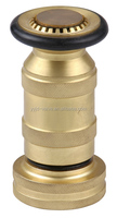 1-1/2''brass water spray nozzle and jet spray Brass Fire Nozzle