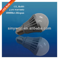 SYW 2014 high quality low price E27 led bulb energy saving led light bulb parts