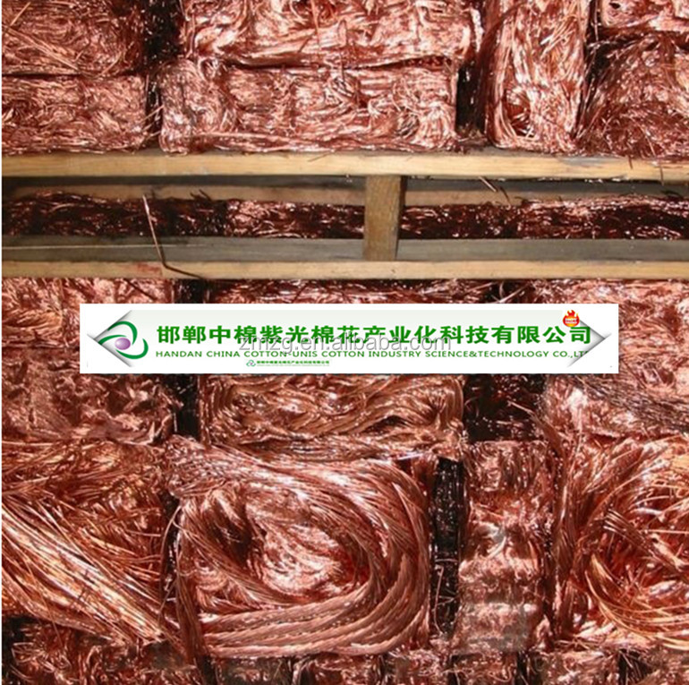 Copper Wire Scrap Mill Berry 99.99%