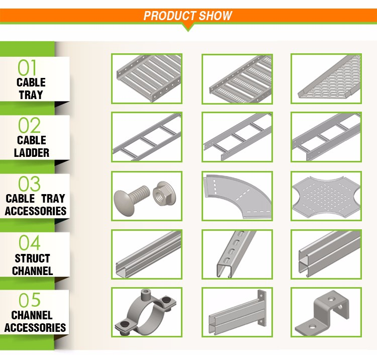 Hot Selling Hot Product Customized Cable Tray Accessories