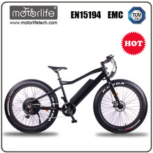 MOTORLIFE/SEB-1 Fat tire 48v 1000w electric bike, e bicycle 2017