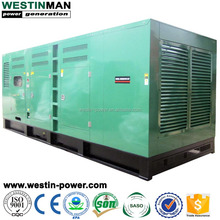 Backup Power Source 625KVA Containerized 500KW Soundproof Diesel Generator for Emergency