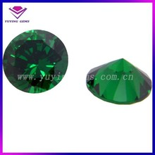 Wholesale 5mm Round Cubic Zirconia AAA Grade Green CZ for Hot Sale