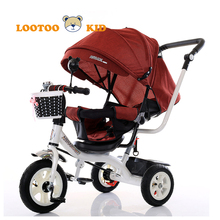 High quality baby smart trike for sale in germany / pp plastic toys tricycle walker / cheap price kids tricycle sale