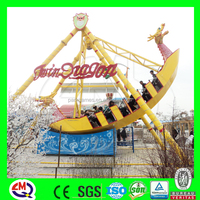 Attractive park ride 24 seats blue pirate ship pirate boat for sale with video
