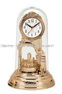 antique table clock with high quality