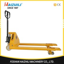 Alibaba Hand Lift Drive, Actuation 5000kg pallet truck with hand brake for hot sale