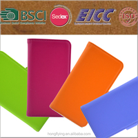 smart pu leather phone case for Sumsung S6 with wholesale price
