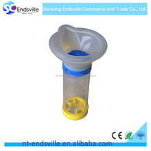 Medical or home use plastic asthma inhaler