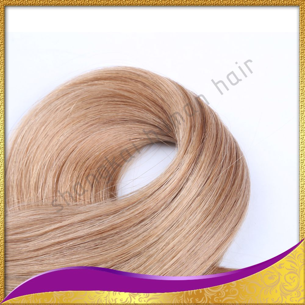 Wholesale price pu straight hair weft hair extension 100% tape human hair extentions