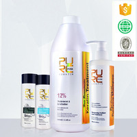 Keratin express blowout organic keratin smoothing treatment for hair 12% 5% formalin set high quality