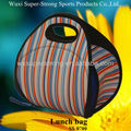 2016 Hot selling!2015 Fashion Design Neoprene Insulated Lunch Bags/Lunch Box Bags,with Zipper and Handle