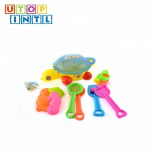 hot sale plastic 10 pcs design beach set kids outdoor toys for play