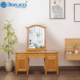 bedroom furniture modern customized size vanity dresser with mirror