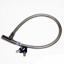 Durable Flexible Cable Bicycle Moto Security Lock