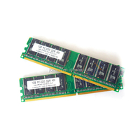 good sales!support all motherboard 1gb pc400 ddr rams