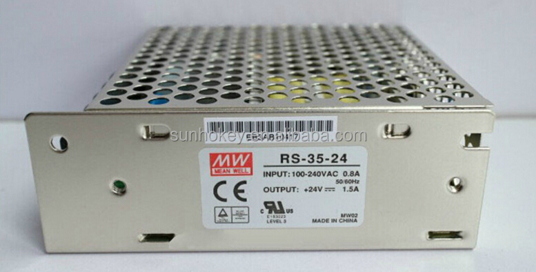 RS-35-24 Switching Power Supplies 36W 24V 1.5A