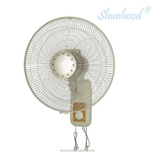 16 Inch (40cm) Electrical Wall Fan Big Size with Pull Chain control and Decorative Pad [EF18-1F-40]