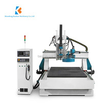 Economic configuration 1325 1530 3d cnc wood carving router with Syntec control system