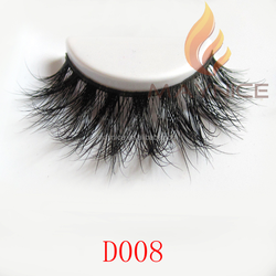 glue for eyelash extension, false eyelash extension, 3d mink eyelash D008