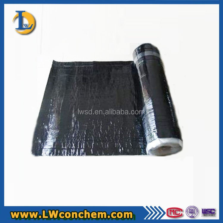 Self-adhesive Coiled 3 ~ 4mm SBS Waterproof Building Materials For roof sheets
