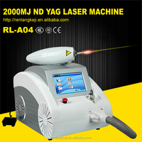 Christmas promotion !!! Q Switched Nd Yag Laser Eyebrow and Tattoo Removal Beauty Equipment