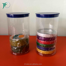 Clear Plastic Cylinder Tube for Gifts