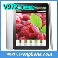 Onda 9.7'' High Quality V972 Quad Core RAM 2GB Android 4.1 Tablet PC 2013 Newest