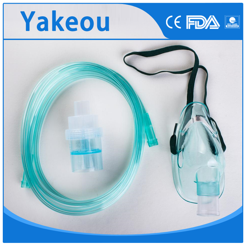 Patient oxygen delivery devices comfortable oxygen mask PVC tubing