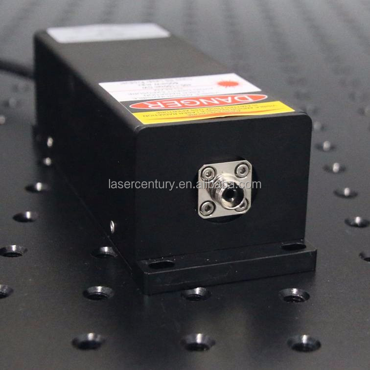 IRM808TA-200FC, Adjustable Power Supply ADR-180A, 200mW 808nm Infrared Diode <strong>Laser</strong>, with Fiber Coupler, CW, 3% Power Stability