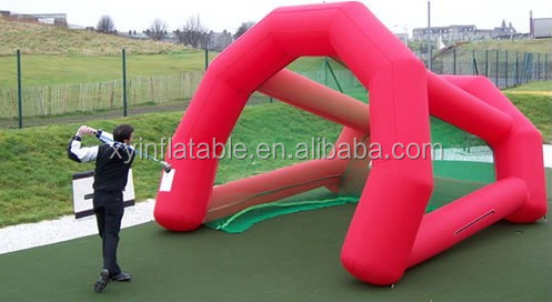 Sport used inflatable golf cage golf pitch