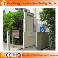300kg Bearing capacity vertical wheelchair lift used for indoor outdoor cheap price