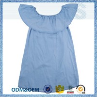 Direct factory price latest fashion blue corner shirt
