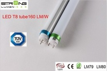 New product Hot sale cheap price good quality promotional model 1.2M T8 LED tube 160LM/W 18W with CE approved