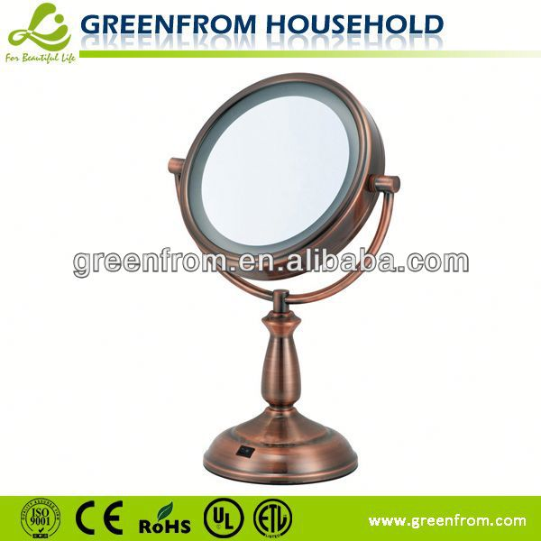7.5 Inch Double Sides Led Parabolic Mirror