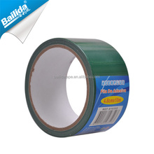Wholesale long service no residue nature rubber green duct cloth tape