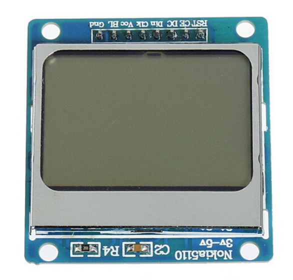 Best Price High quality Nokia 5110 84x48 LCD Shield Module Blue Backlight