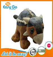 Customized Bsci GMP special plush dinosaur toys