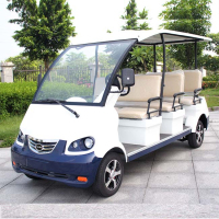 8 Passenger Electric Tourist Car with Comfortable Seats (DN-8)