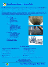 Consultancy Services for Water Treatment Plant