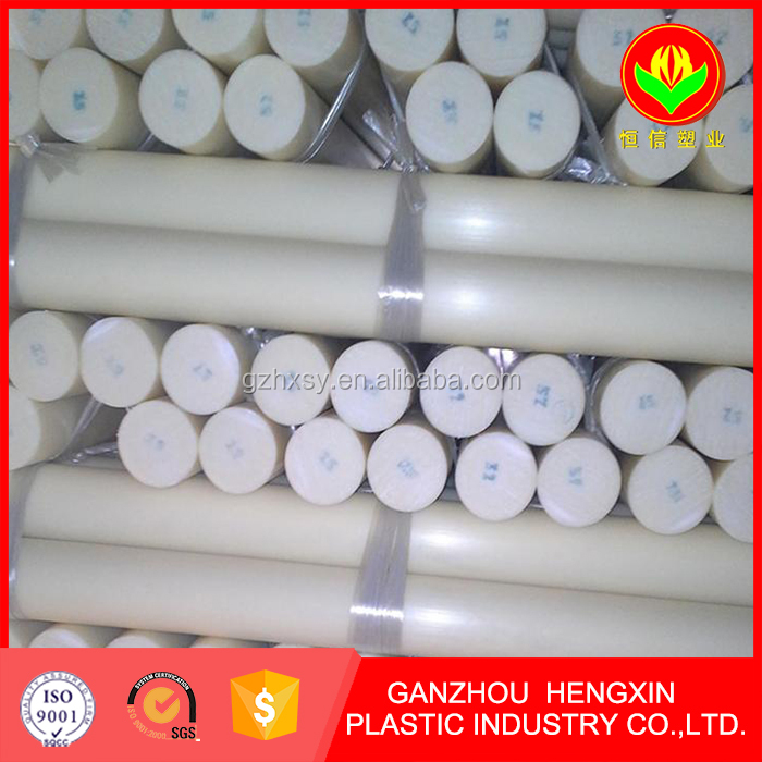 Flexible engineering plastic rods HDPE rod with good corrosion resistant