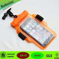new products fashion stars quicksand waterproof phone bag hot selling in Japan Korea