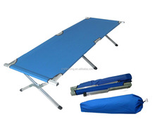Germany Market red cross camping bed,cheap folding camping bed cot,military bed