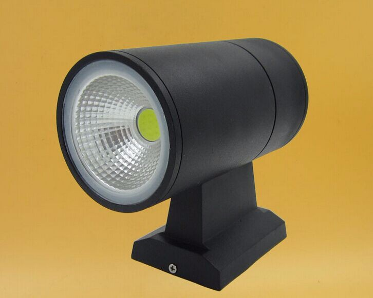 Waterproof cob up and down led aluminum wall lights 5W IP65